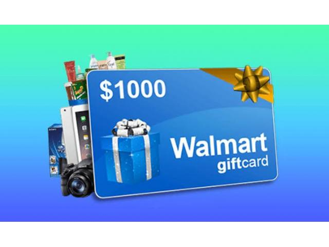 Free $1000 Gift Card in this Lockdown (US Only)