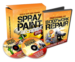 """The First Do-It-Yourself Spray Painting & Body Work Course"""