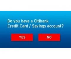 Citibank India offers a variety of Credit Cards