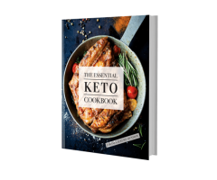 The Essential Keto Cookbook (Physical) - Free + Shipping