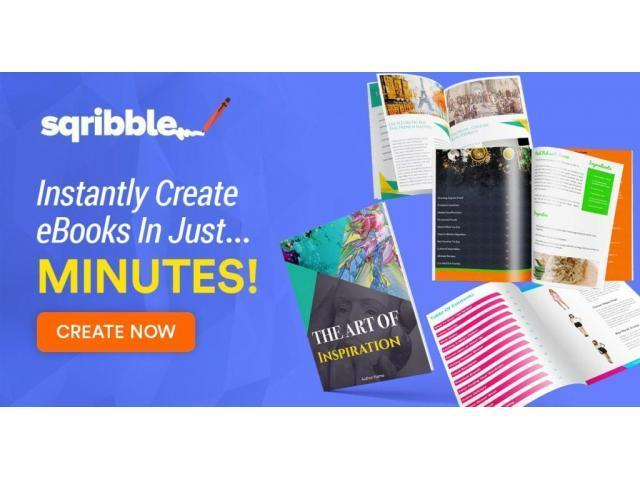 Creates AMAZING eBooks & Reports In 5 MINUTES Without Typing Any Words!
