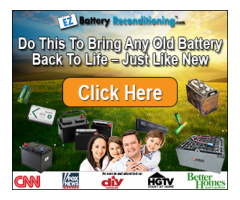 Bring Back Old Batteries Back To Life Again?