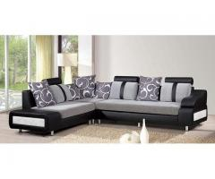Sofa Set 6 Seater- Red (3 + 2 +1 Seater) Anti Stain Fabric