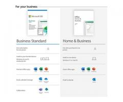 Microsoft Office Home and Business.