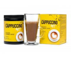 TASTY WEIGTH LOSS cappuccino MCT-drink coffee and burn fat