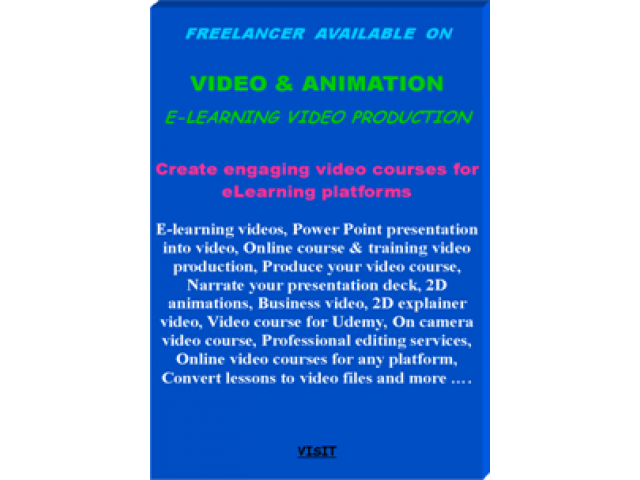 E-Learning Video Production