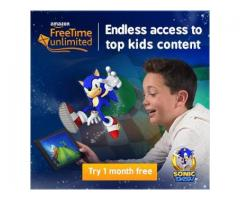 Amazon FreeTime Unlimited Free Trial