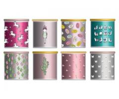 I will design custom candle labels for your candle
