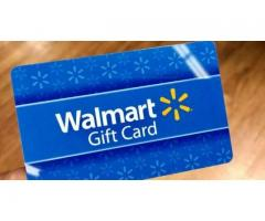 Get your free 250$ walmart gift card