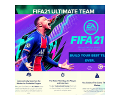 FIFA 21ultimete millionaire  BUILD YOUR BEST TEAM EVER.