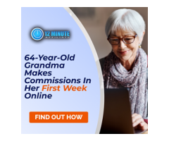 """64 Year Old Grandma Pockets Commissions in the First Week! Hey, have you seen the """"Grandma Video""""?"""