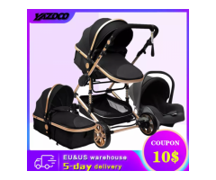 YAZOCO Stroller 3 in 1 Baby Stroller High Light