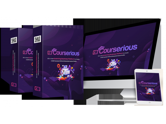 Courserious Platform That Lets You Run Your Own Profitable eLearning Business