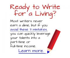 Ready to write for a living ?