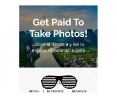 GET PAID FOR EVERY PICTURE YOU TAKE.