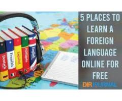 Learn languages / lessons online