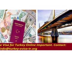e Visa for Turkey Online Important