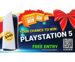 Try your chance to win PlayStation 5