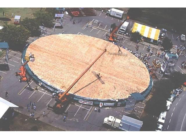 World Largest Pizza in the world