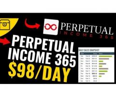 What is the goal of Perpetual Income 365affiliate marketing software