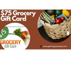 RZUSA | $75 Grocery Gift Cards