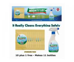 Mighty101 It Really Cleans Everything Safely. STANDARD PACK
