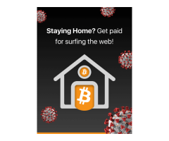 STAYING HOME? GET PAID FOR SURFING THE WEB