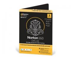 Norton 360 Deluxe Safer Gaming