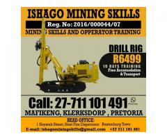 drill rig machine skills at rustenburg 0711101491/-0145942376