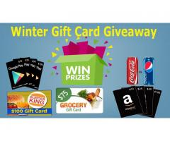 Winter Grocery Gift Card