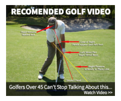 Golfers over 45 cant stop talking about this...+