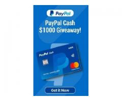 $1000 PayPal Giveaway!!!