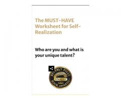 Must-Have Worksheet For Self Realization