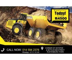 dump truck mining training at rustenburg 0711101491