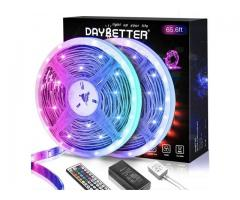 65' led lights with remote $19