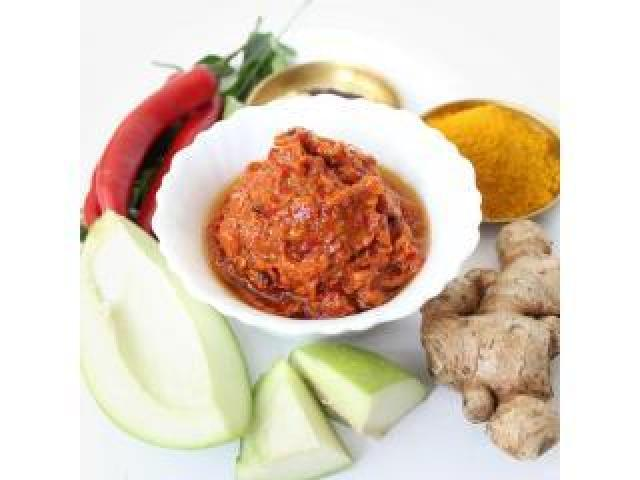 Red Chili Mango Ginger Pickle