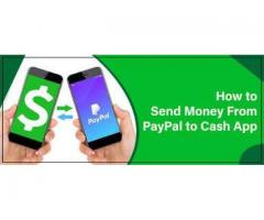 How can you send money from PayPal to Cash app?