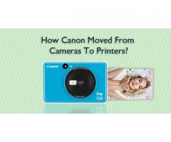 How Canon Moved From Cameras To Printers?