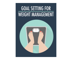 Goal Setting For Weight Management Ebook