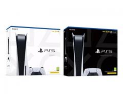 Playstation 5 Consoles PS5 disc - $400 USD