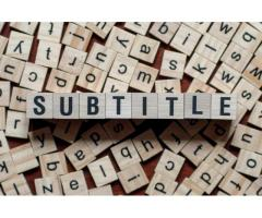 Professional Video Subtitling Services