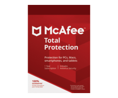 McAfee Total Protection (1 Year/ 1 Device) - Buy or Renew - Secure Buyings