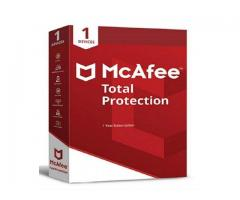 How to activate a McAfee product subscription with a retail card