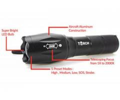 Free Tactical Flashlight - All Types Of Traffic, Genders, Ages