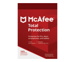 McAfee Total Protection (1 Year/ 3 Devices) - Buy or Renew - Secure Buyings