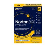 Norton 360 Premium (1 Year/ 10 Devices) - Buy or Renew - Secure Buyings