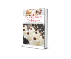 Really trending recipes and techniques for bake lovers.   Offer converts well on social media.