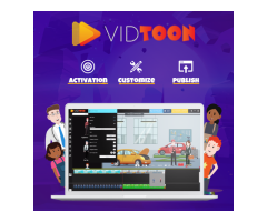 Vidtoon 2.0 - Drag And Drop Animated Videos Maker