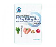 28 Day Eating Plan, Real food to help you achieve your goals