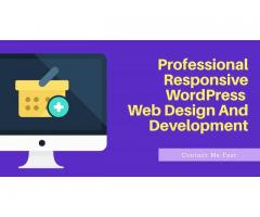 I will professional responsive wordpress website design full complete